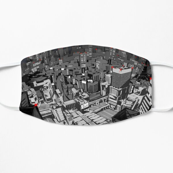 Persona 5 - Calendar Background (Night) Mask
