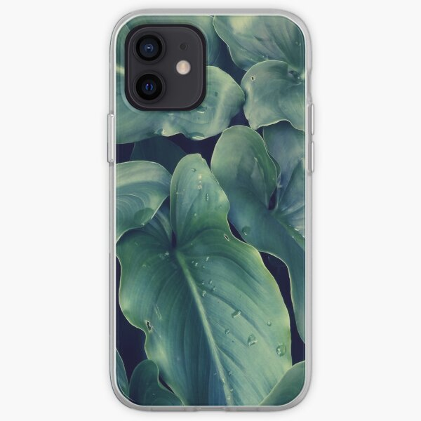 Arum Arrowhead-shaped Leaves iPhone Soft Case