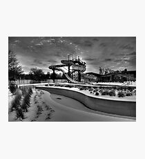 Winter Water Park Photographic Print