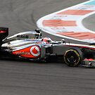 Jenson Button by kiddchino