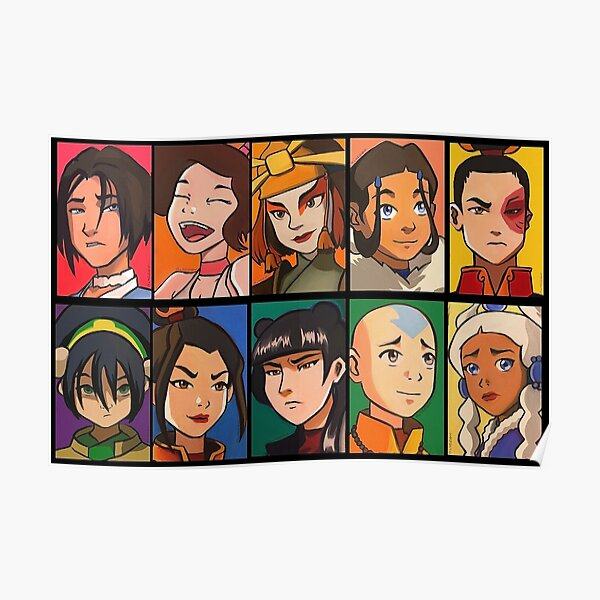 Avatar Characters! Poster