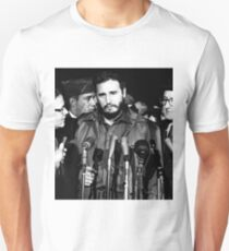 Fidel Castro - MATS Terminal, Washington 1959 Unisex T-Shirt