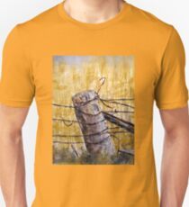 A lonely fence in Australia T-Shirt