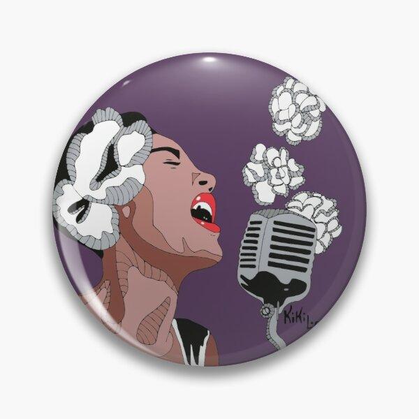 Billie Holiday Chapa