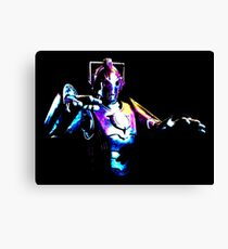 Cyberman Alpha [Print] Canvas Print