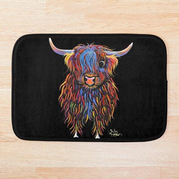 HiGHLaND CoW PRiNT SCoTTiSH ' BiG MaC ' BY SHiRLeY MacARTHuR Bath Mat