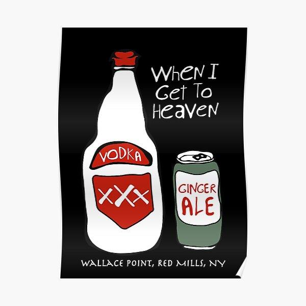 John Prine Country Music - When I Go To Heaven - Singer Folk Music Poster