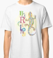 Fashion Barcelona City Lizard Classic T-Shirt