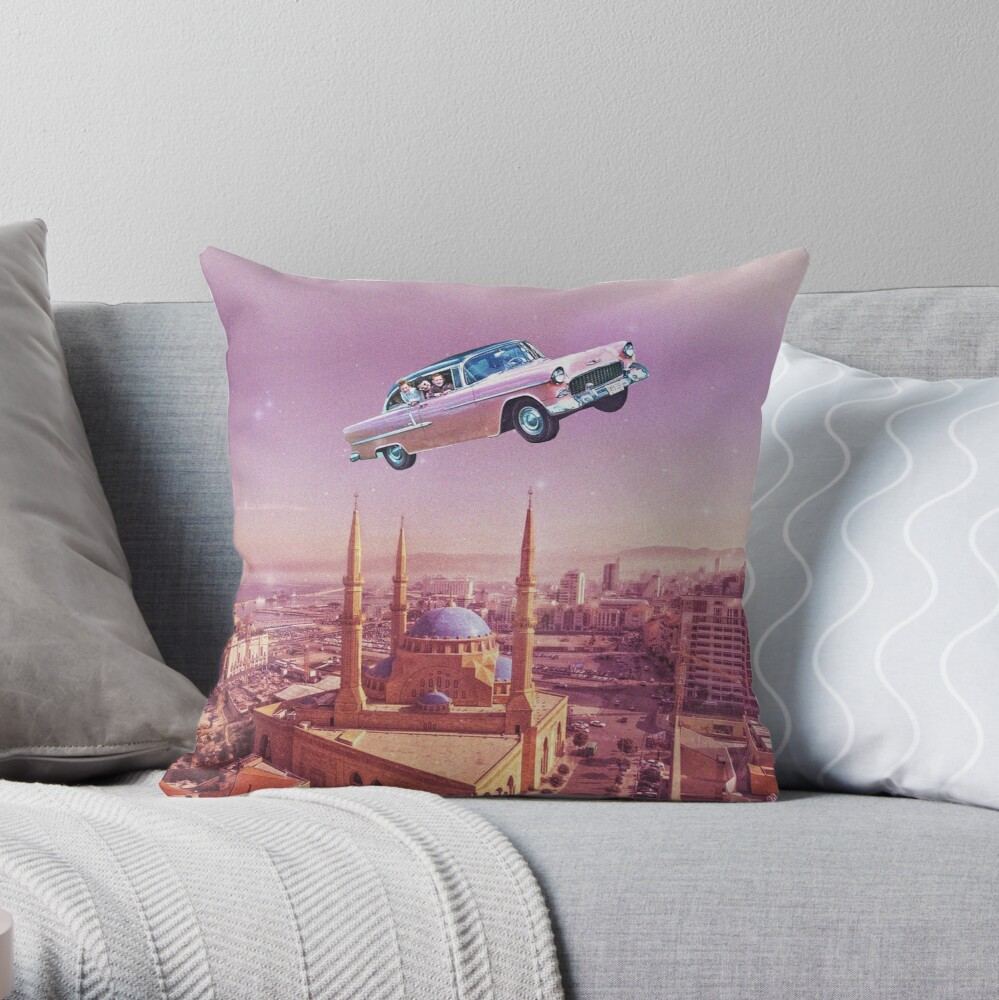 Tour de Liban Throw Pillow