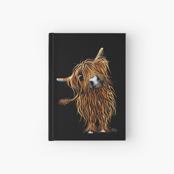 HiGHLaND CoW PRiNT SCoTTiSH ' CoooWeee ' BY SHiRLeY MacARTHuR Hardcover Journal