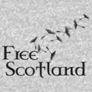 Free Scotland Dandelion Seed T-Shirt by simpsonvisuals