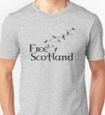 Free Scotland Dandelion Seed T-Shirt Unisex T-Shirt