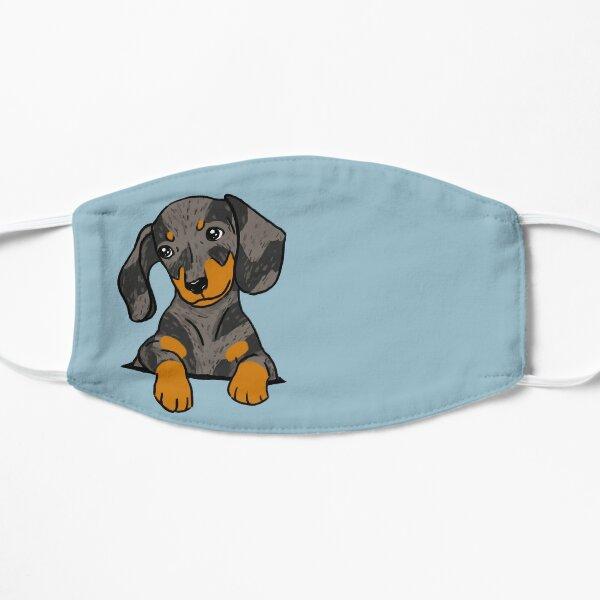 Dapple Dachshund Puppy in Your Pocket Mask