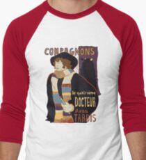 Le Fourth Doctor Men's Baseball ¾ T-Shirt