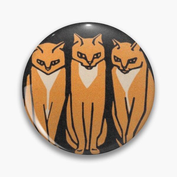 Three cats (1916) Pin