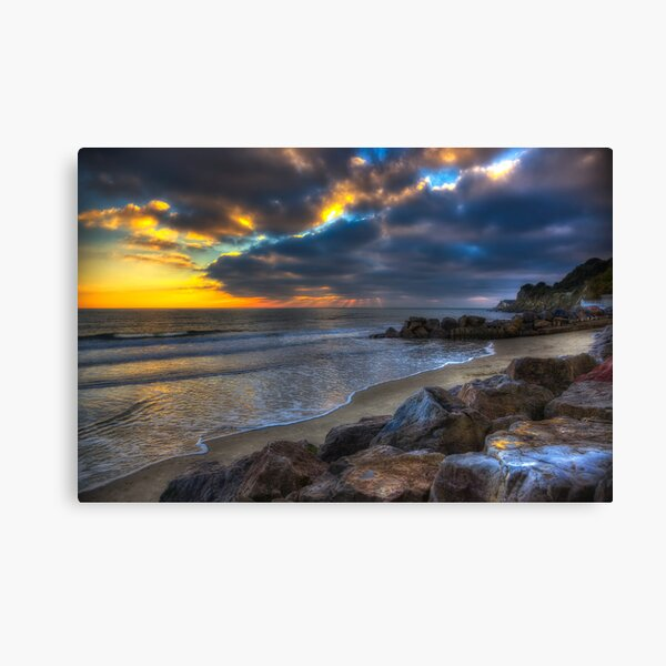 Steephill Cove Canvas Print
