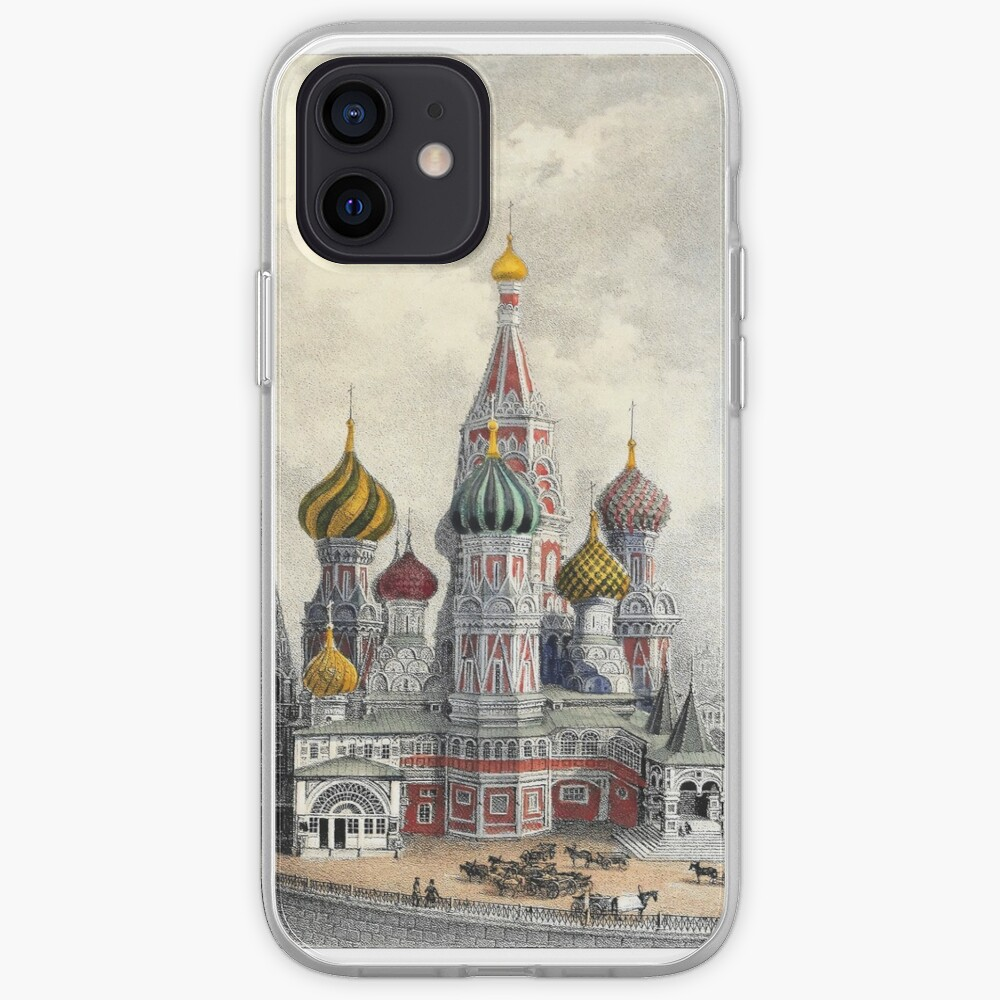 Saint Basil's Cathedral, Moscow iPhone Case & Cover