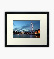 London by night Framed Print