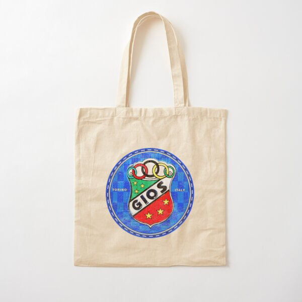 Gios Vintage Racing Bicycles Italy Cotton Tote Bag