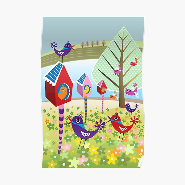 Bird Chatter Poster