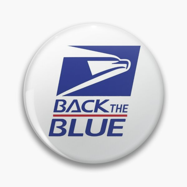 Support USPS - Back the Blue Pin