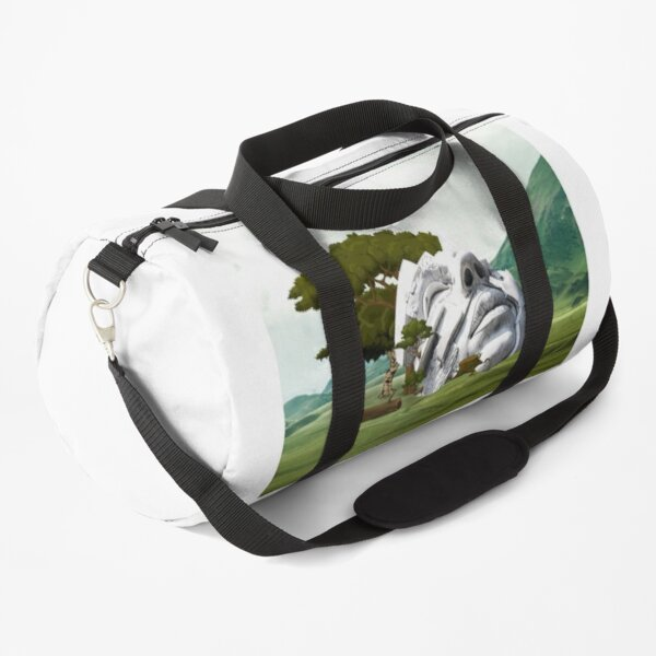 Mask of Time Duffle Bag