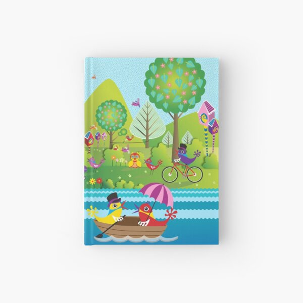 A Stroll in the Park Hardcover Journal