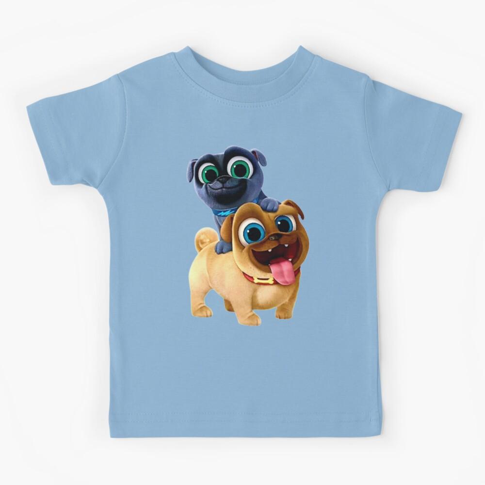 Bingo and Rolly playing fun Kids T-Shirt