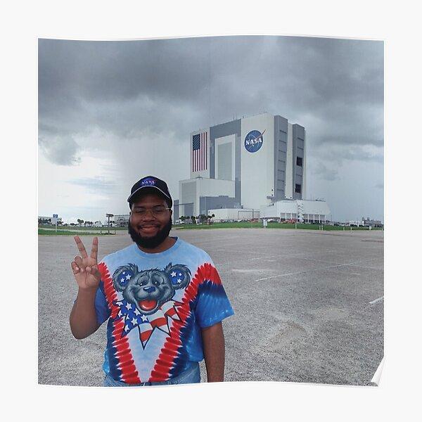Khalid at NASA Poster