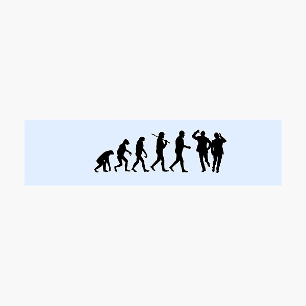 Evolution of Morecambe and Wise Photographic Print