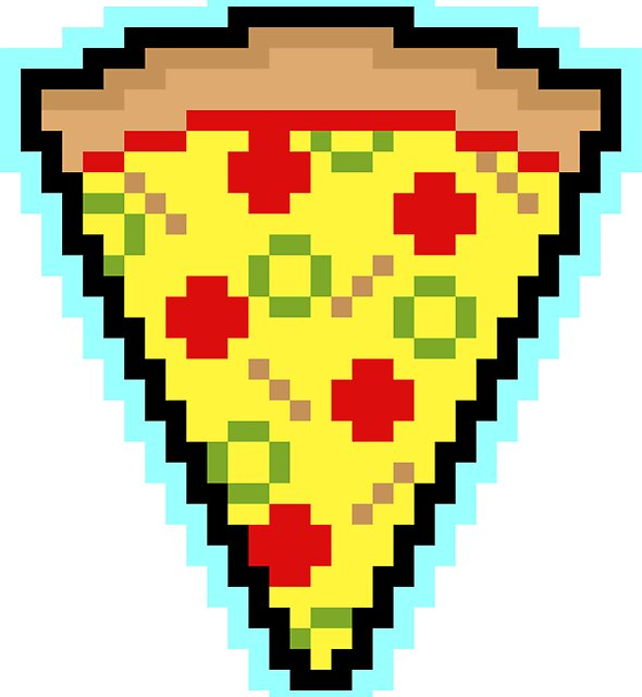 Pixel Pizza by sombrasblancas
