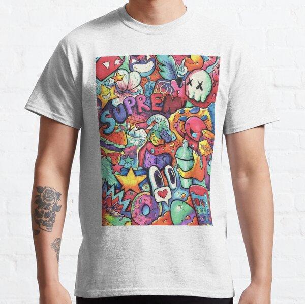 SUPREME // Doodle de marqueur Copic T-shirt classique