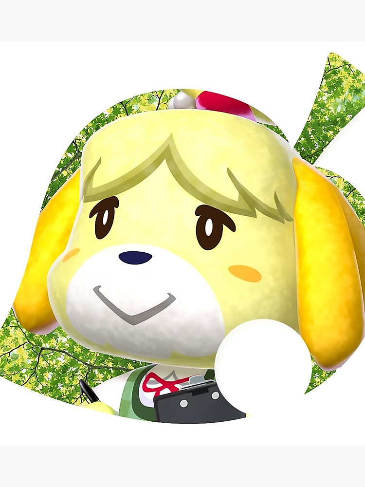 Animal Crossing New Leaf Isabelle Photographic Print By