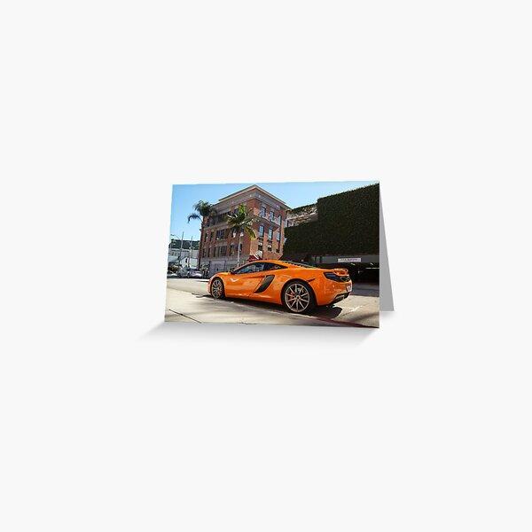 McLaren MP4-12C Greeting Card