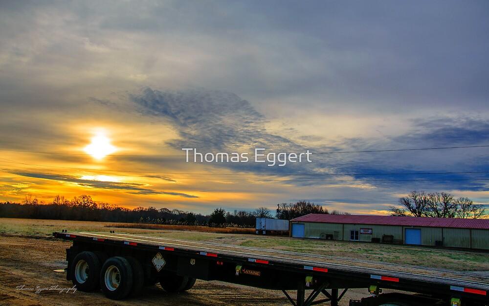 Mississippi Sunrise by Thomas Eggert