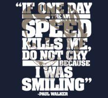 Paul Walker Tribute shirt | Unisex T-Shirt