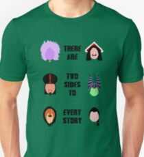 Twisted Villains (2) Unisex T-Shirt