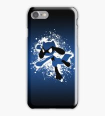 Riolu Splatter iPhone Case/Skin