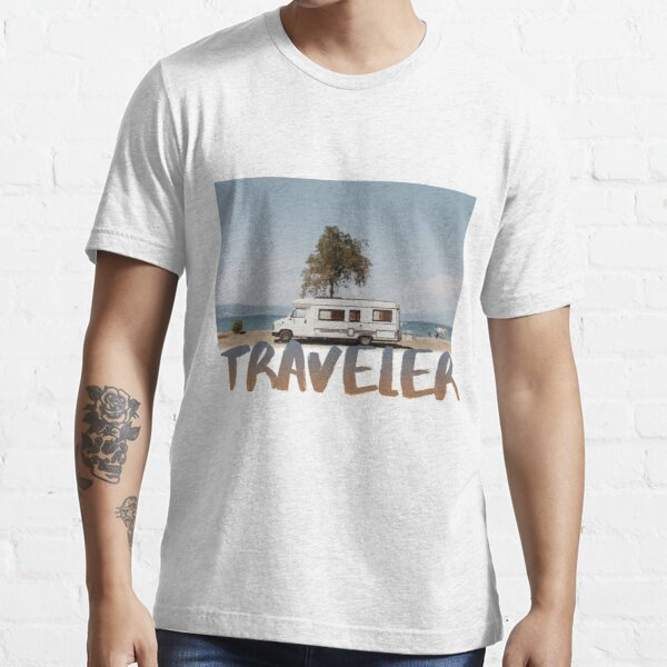 Viajero Camiseta esencial