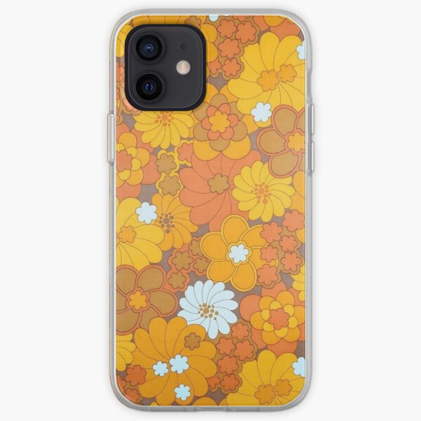 70s flower aesthetic  iPhone Soft Case