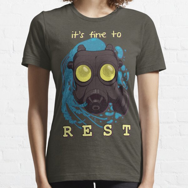It's fine to rest. Essential T-Shirt