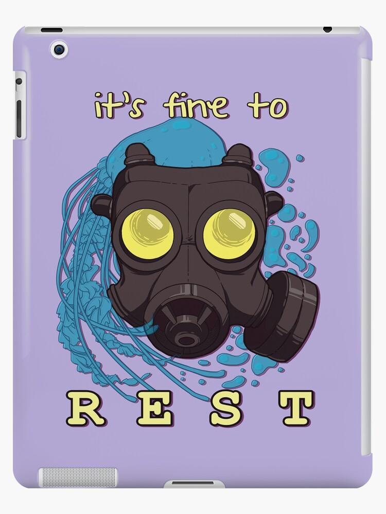 It's fine to rest. by Jessica Dawn