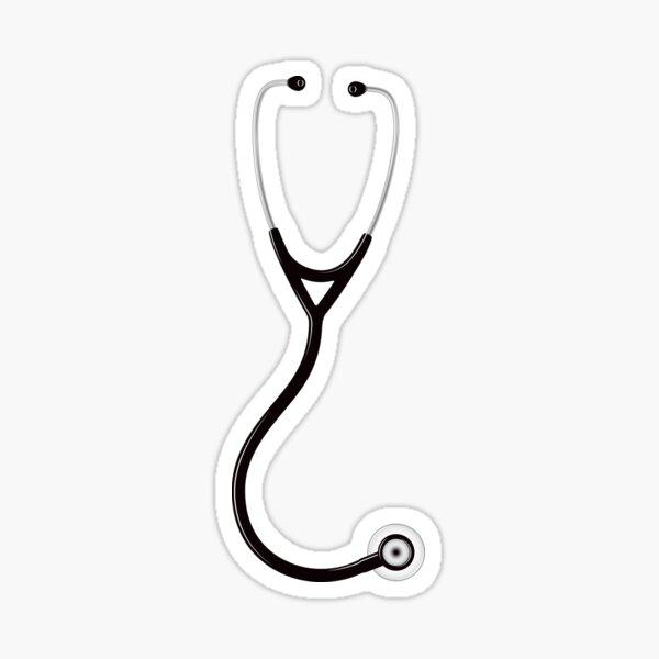 Stethoscope Sticker