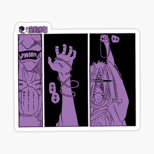 Toter Dämon, der Siegel verbraucht Sticker