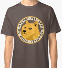 Wow such shirt! Classic T-Shirt
