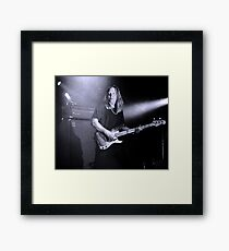 Brian Ritchie Framed Print