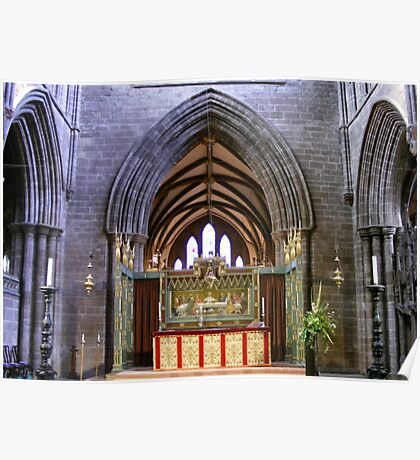 Altar  in Chester Cathedral, Poster