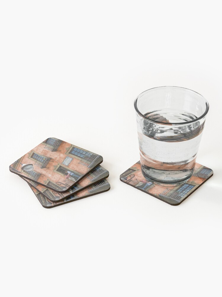 Alternate view of Colourful Seville Architecture  Coasters (Set of 4)