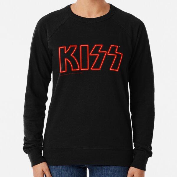 KISS Band Neon Logo Lightweight Sweatshirt