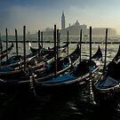 Gondole all'ormeggio by Andrea Rapisarda